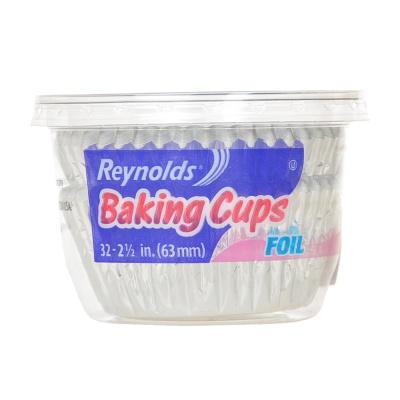 Foil Baking Cups Large 32ct