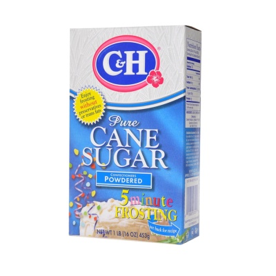 C&H Pure Cane Sugar Powdered 453g
