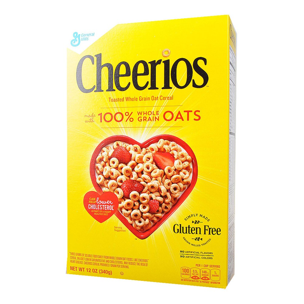 Cheerios Toasted Whole Grain Cereal 340g