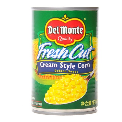 Del Monte Fresh Cut Cream Style Corn 418g