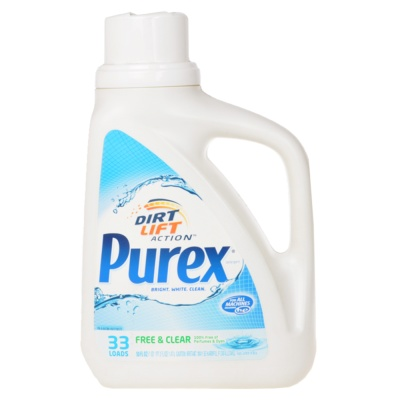 Purex Free and Clear Laundry Detergent 1.47L