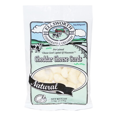 Ellsworth Natural Cheddar Cheese Curds 140g