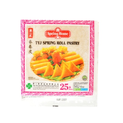 Spring Home Spring Roll Pastry(200Mm) 340g