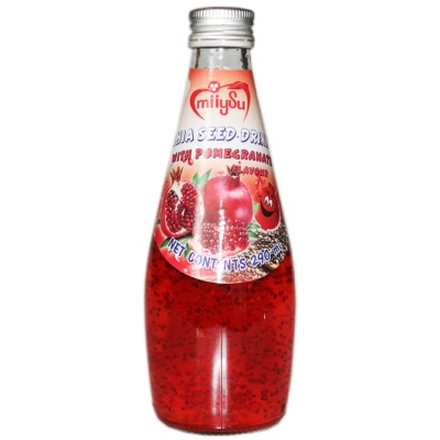 Miiysu Pomegranate Flavour Chia Seed Drink 290ml
