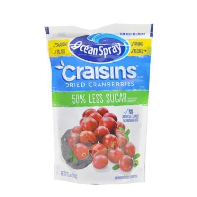 Ocean Spray Dried Cranberries 50% Less Sugar 142g