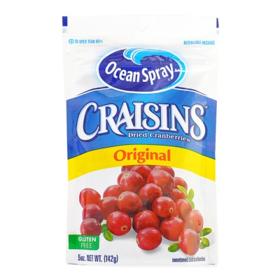 Ocean Spray Original Dried Cranberries 142g