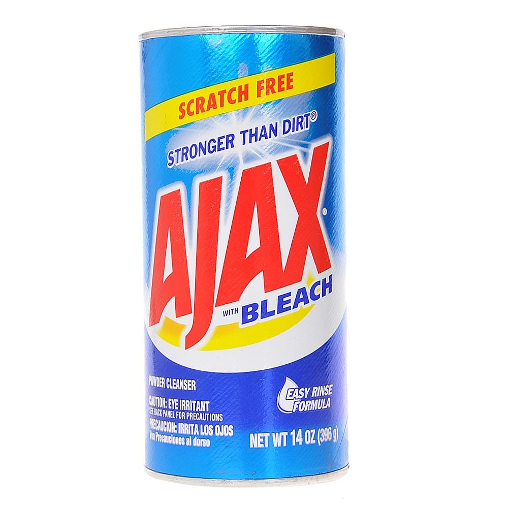 Ajax Scratch Free With Bleach Powder Cleanser 396g