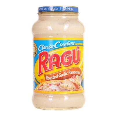 Regu Roasted Garlic Parmesan Cheese Pasta Sauce 453g