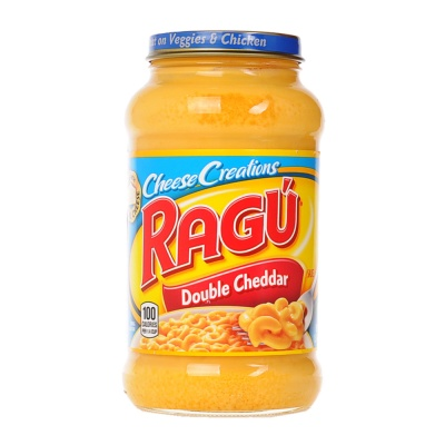 Ragu Cheesy Creations Double Cheddar Sauce 453g