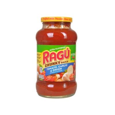 Ragu Tomato Garlic & Onion Pasta Sauce 680g