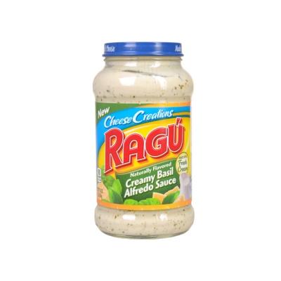 Ragu Cheese Creamy Basil Alfredo Pasta Sauce 462g