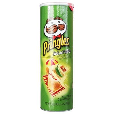 Pringles Jalapeno Potato Crisps 158g