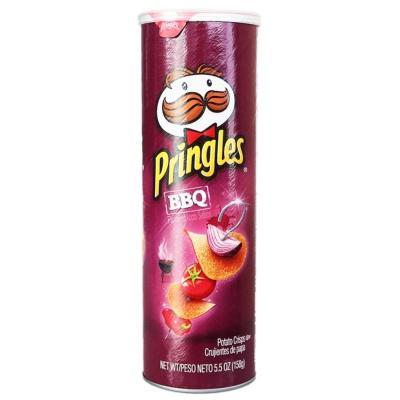 Pringles BBQ Potato Crisps 158g