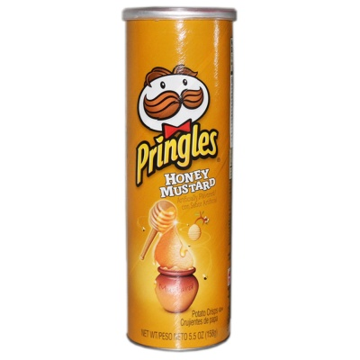 Pringles Honey Mustard Potato Crisps 158g