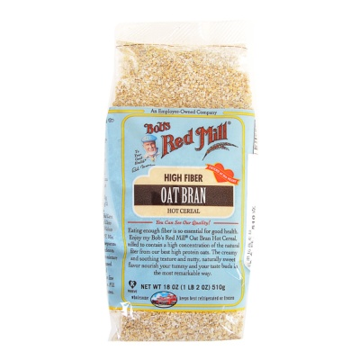 Bob's Red Mill Oat Bran 453g