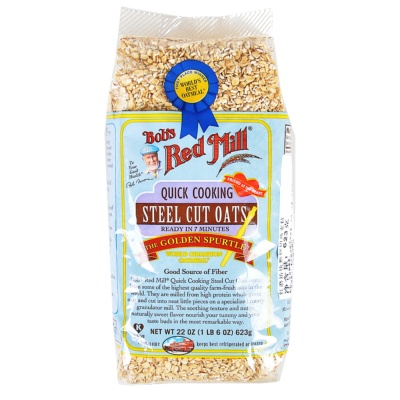 Bob's Red Oats Quick Cook Steel Cut 624g