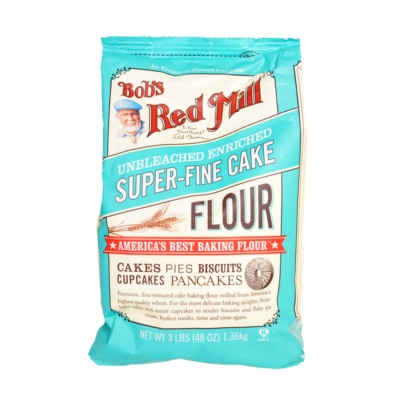 Bob's Red Mill Unbleached Enriched Cake Flour1.36kg