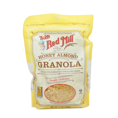 Bob'S Red Mill Honey Almond Granola 340g