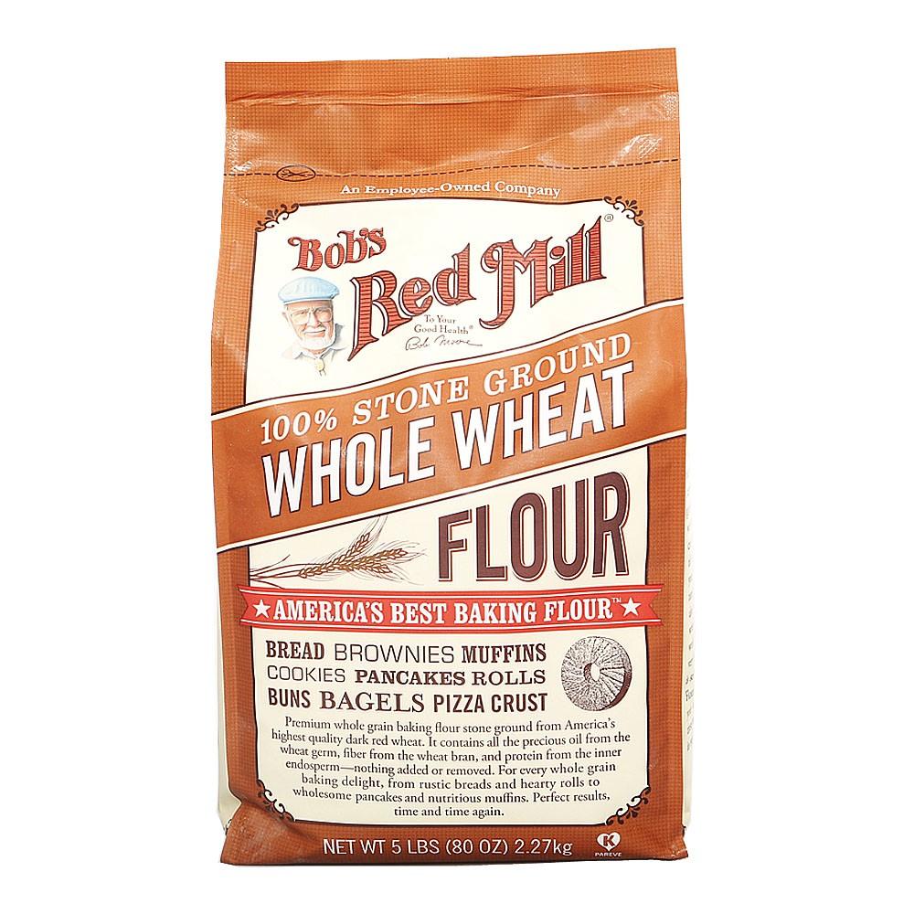Bob's Red Mill Whole Wheat Flour 2.26kg