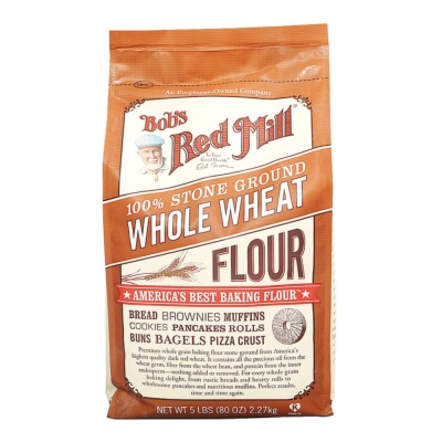 Bob's Red Mill Whole Wheat Flour 2.26kg