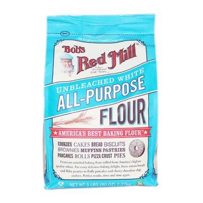 Bob'S Red Mill Unbleached White All-purpose Flour 2.27kg