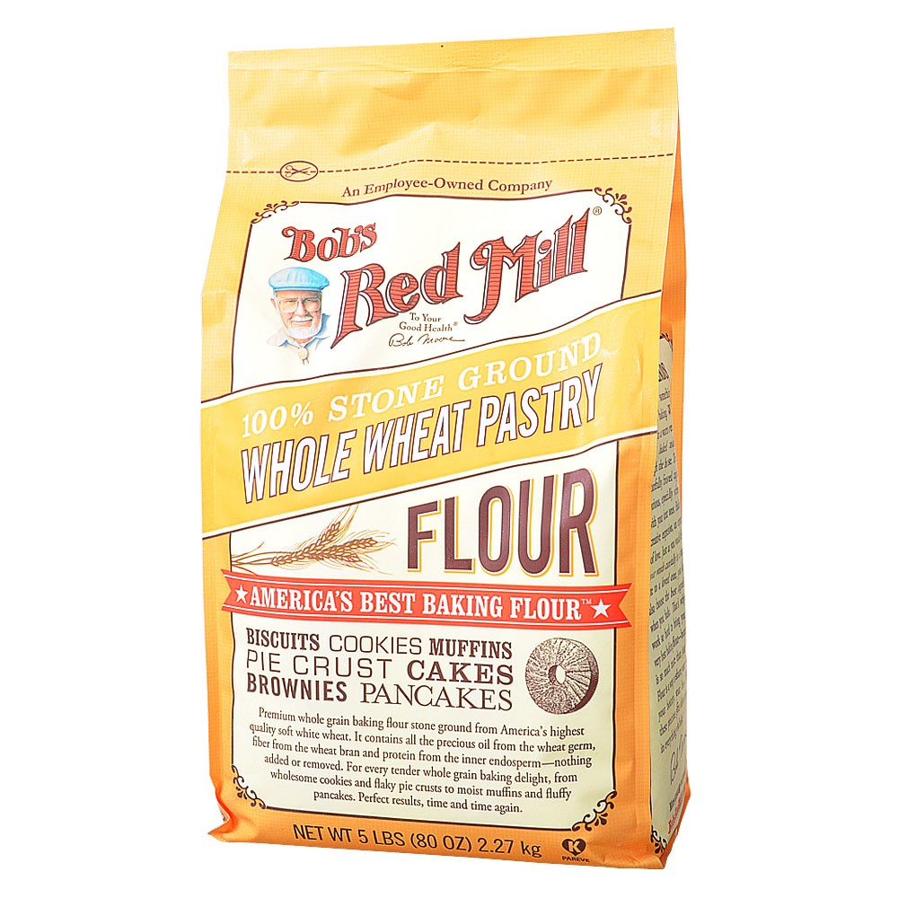 Bob's Red Whole Wheat Pastry Flour 2.27kg