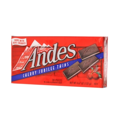 Andes Cherry Jubilee Thins Chocolate 132g