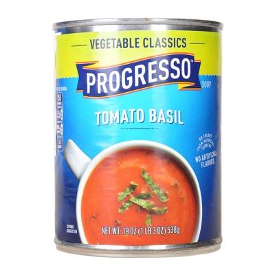 浦氏罗勒番茄蔬菜罐头 538g