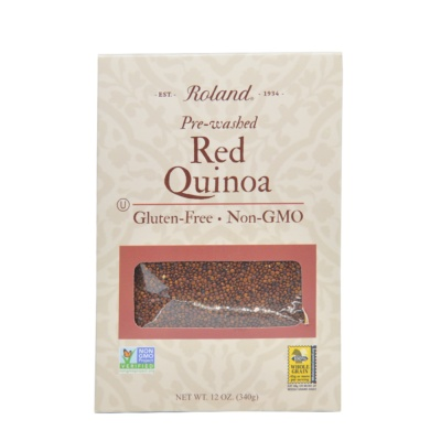 Roland Pre-Washed Red Quinoa 340g