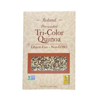 Roland Pre-Washed Tri-Color Quinoa 340g