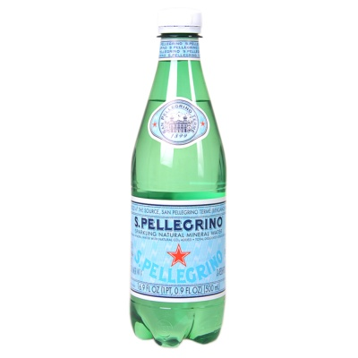 S.Pellegrino Sparkling Natural Mineral Water 500ml