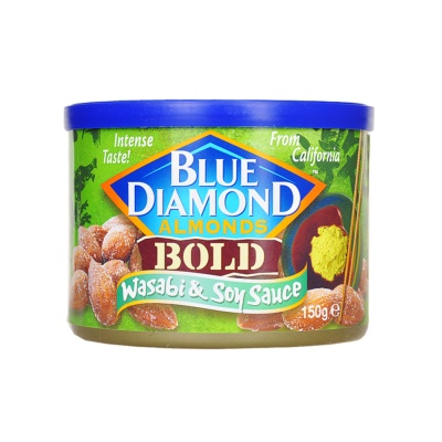 Blue Diamond Wasabi & Soy Sauce Almonds 150g