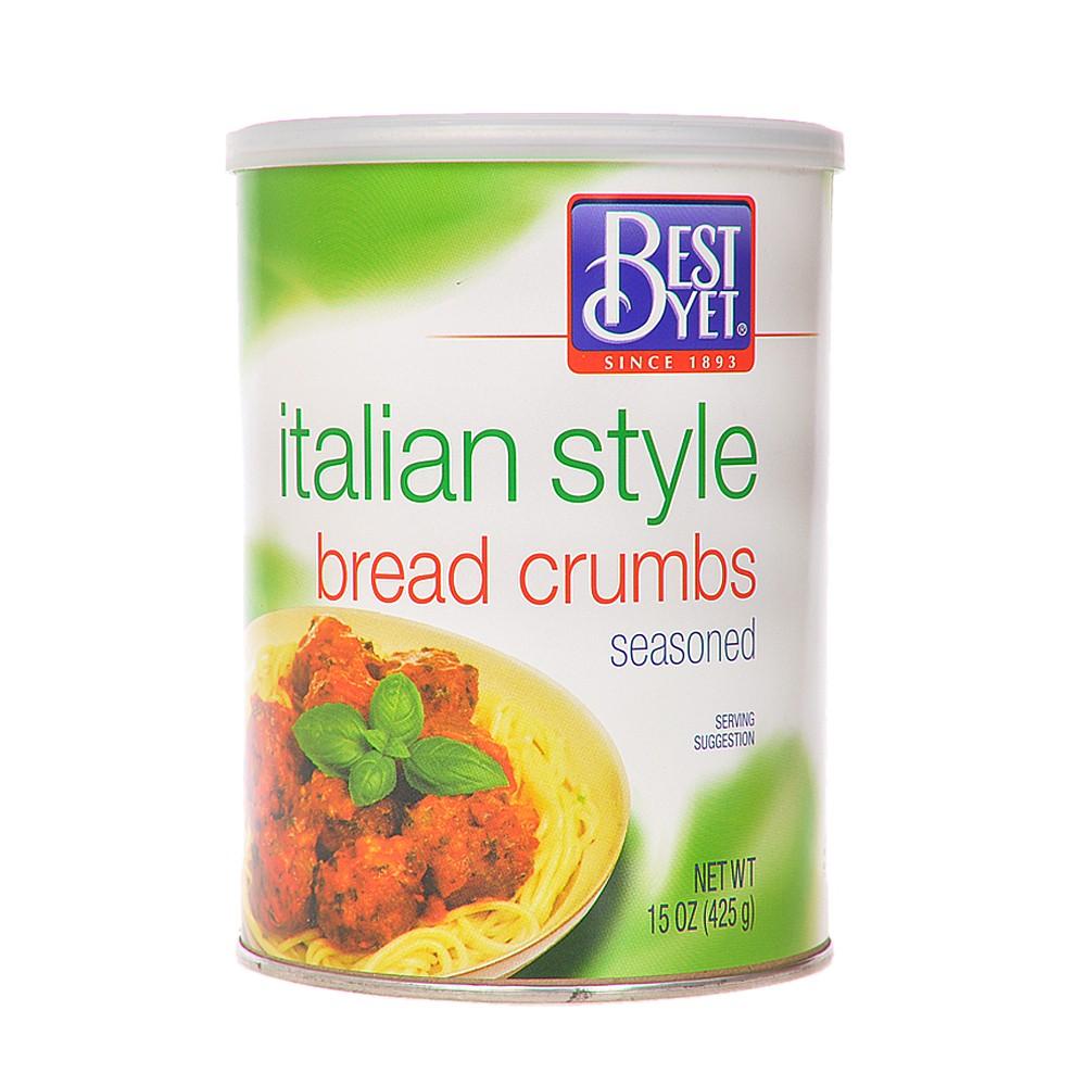 Best Yet Italian Style Bread Crumbs 425g