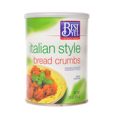 Best Yet Italian Style Bread Crumbs 425g