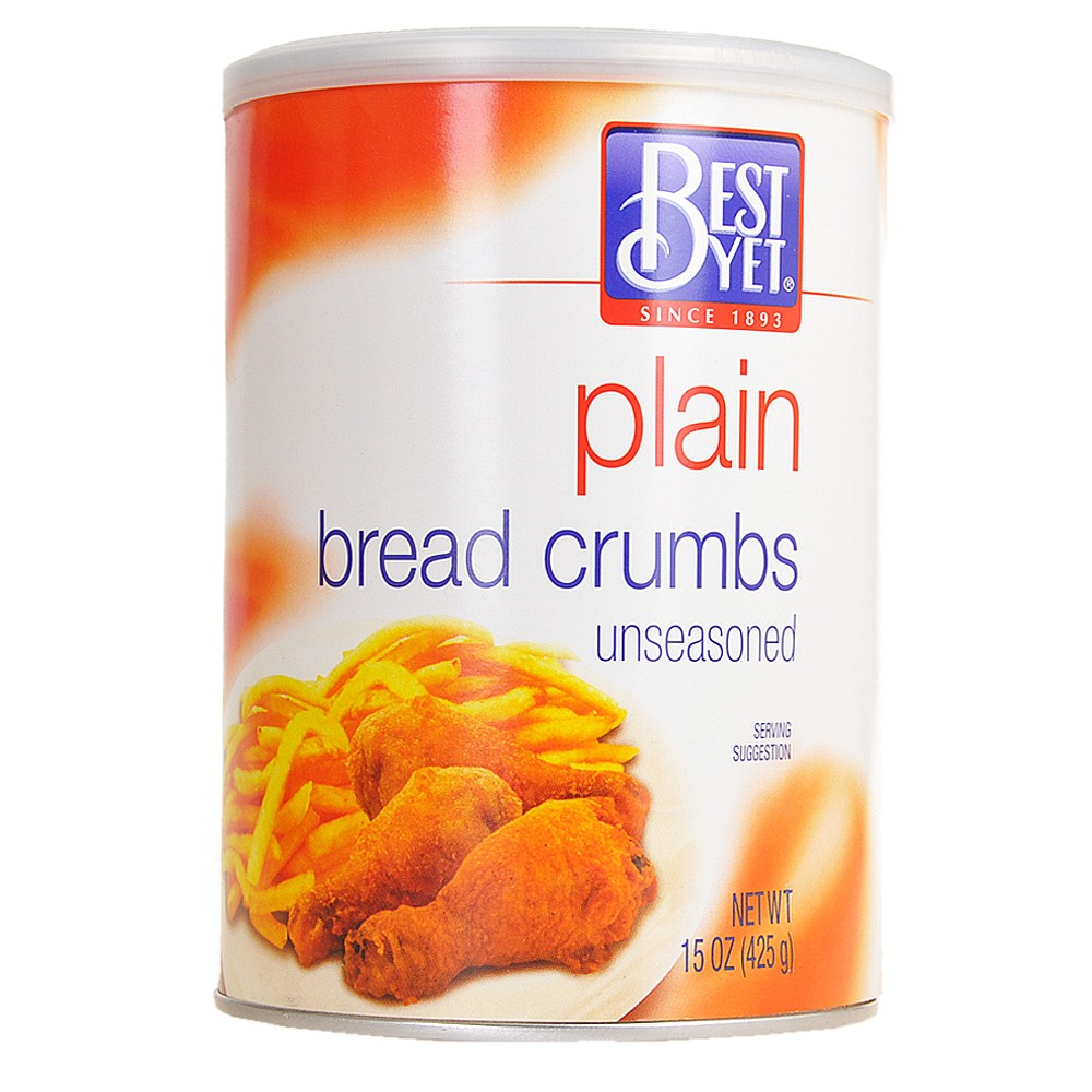 Best Yet Unseasoned Plain Bread Crumbs 425g