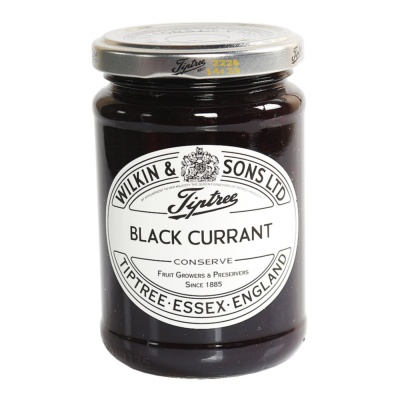 Tiptree Black Currant Jam 340g
