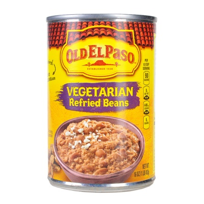 Old El Paso Vegetarian Refried Beans 453g
