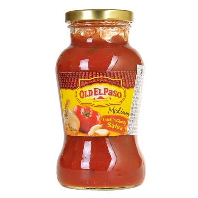 Old El Paso Thick N Chunky Salsa Medium 453g