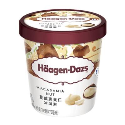 Haagen-Dazs Macadamia Brittle Ice Cream 392g
