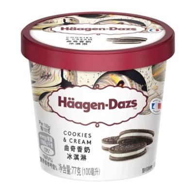 哈根达斯曲奇香奶冰淇淋 77g