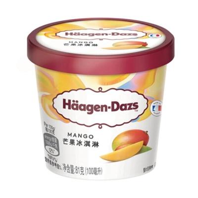 哈根达斯芒果冰淇淋 81g