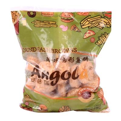 安格瑞冷冻圆形薯饼 1kg