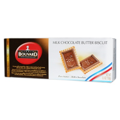 Bouvard Milk Chocolate Butter Biscuit 150g