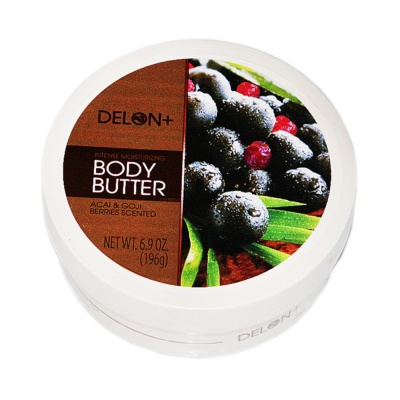 Delon Acal&Goji Berries Scented Body Butter Cream 196g