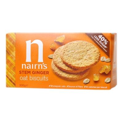 奈尔斯姜味燕麦饼干 200g