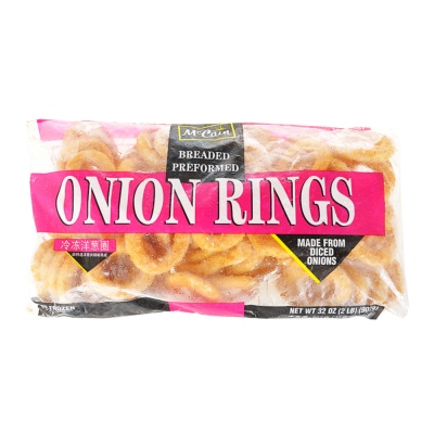 Mc Cain Breaded Preformed Onion Rings 907g