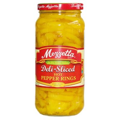 Mezzetta Deli-Slices Hot Pepper Rings 473ml