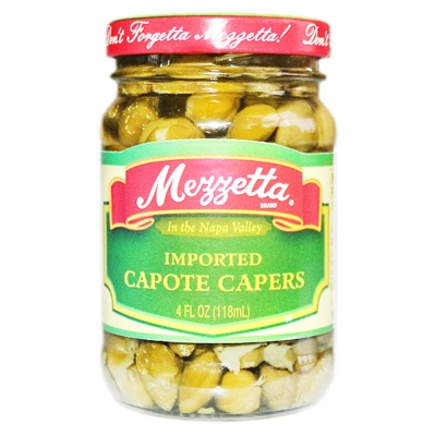 Mezzetta Imported Capote Capers 118ml