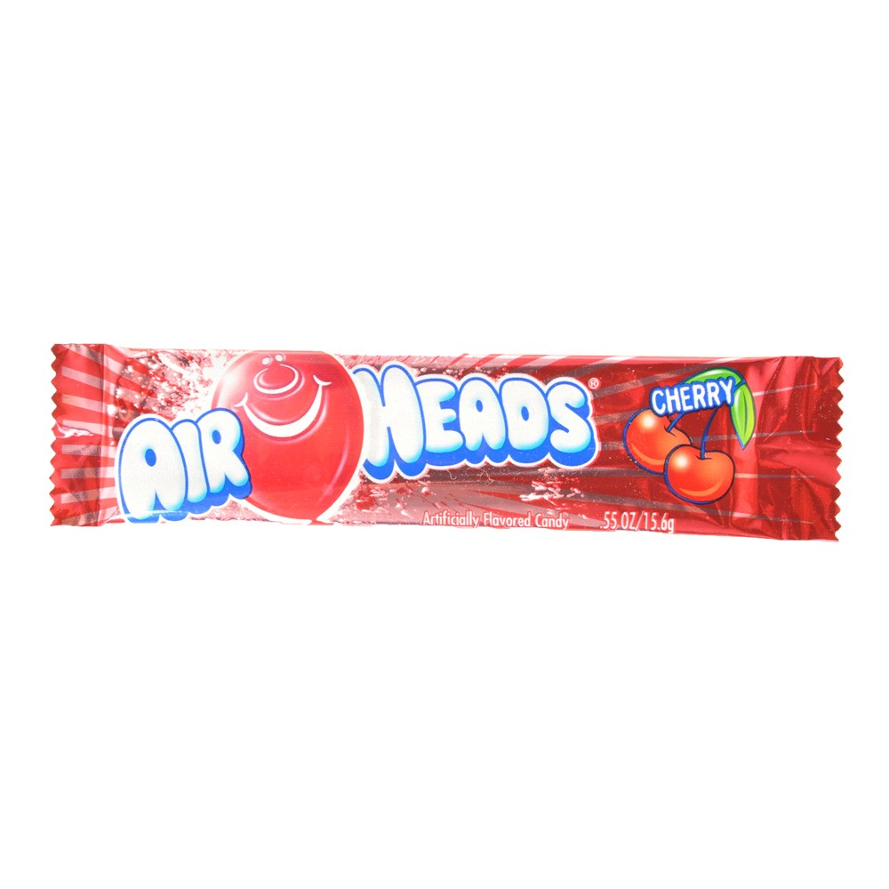 Air Heads Cherry Flavored Candy 16g