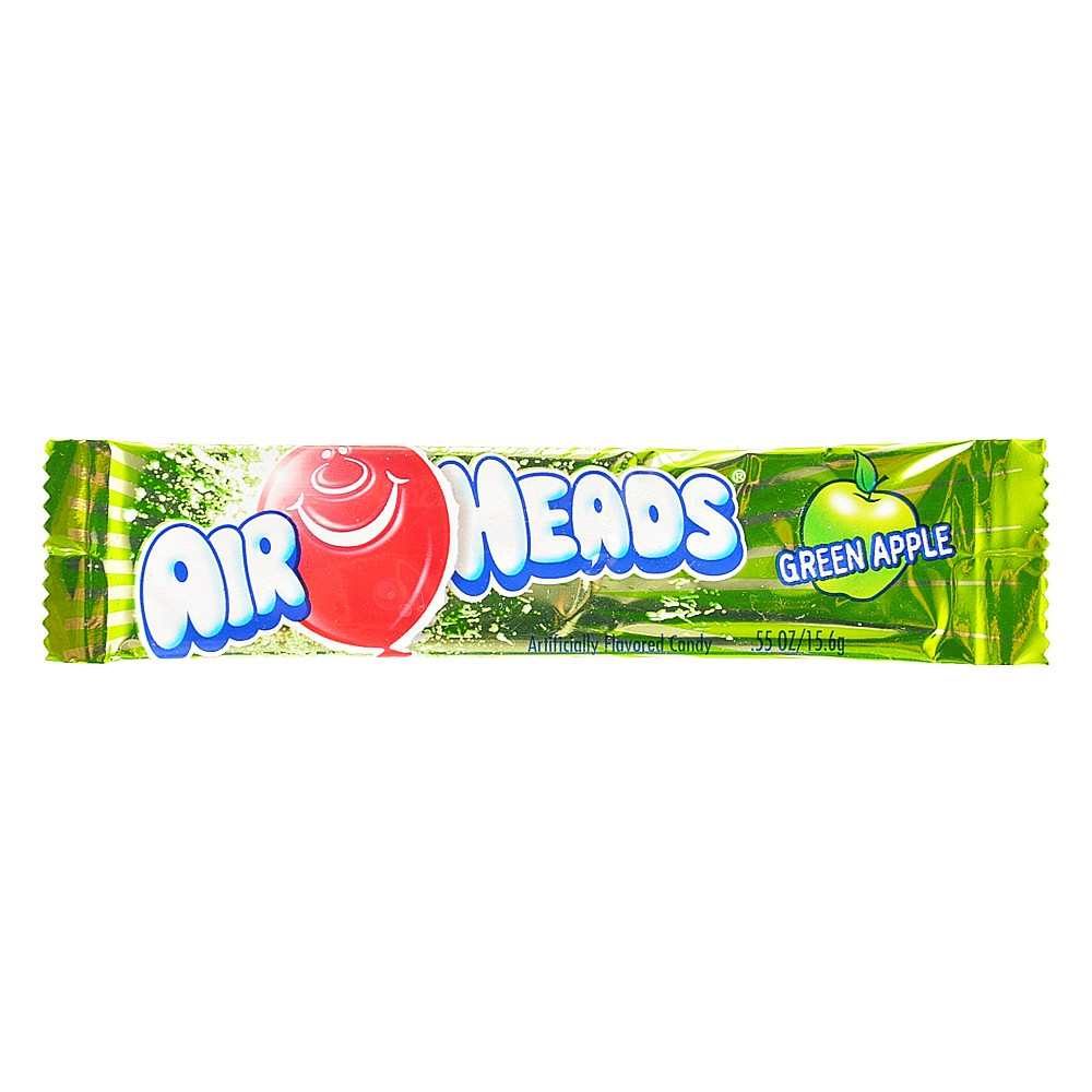 AirHeads Green Apple Candy 15.6g
